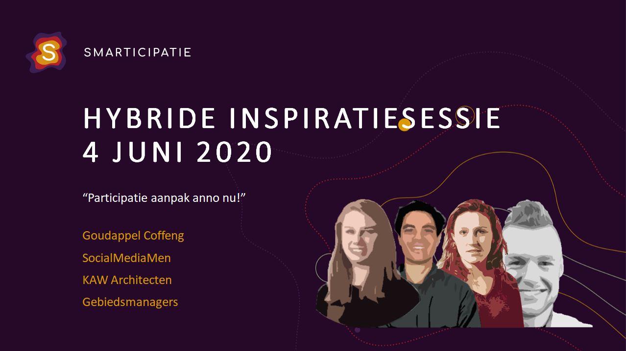 Hybride Smarticipatie 4 juni 2020